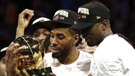 NBA FINALS 2019 : L'ailier de Toronto Kawhi Leonard élu MVP des Finals 2019
