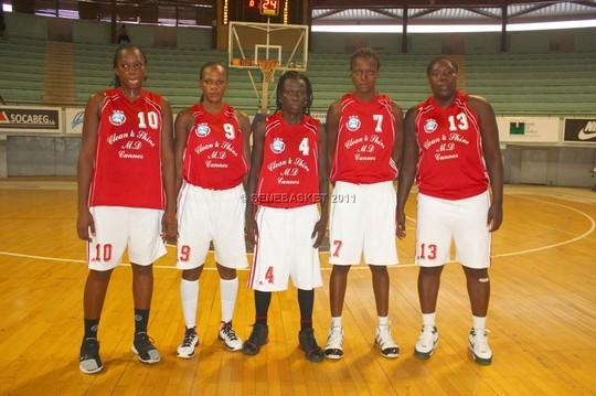 Basket : National 1 féminin (4ème journée)2ème défaite de SLBC, USO à la puissance 4