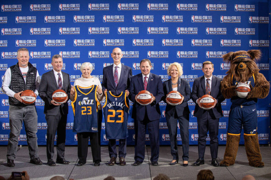 NBA:Salt Lake City accueillera le All Star Game en 2023