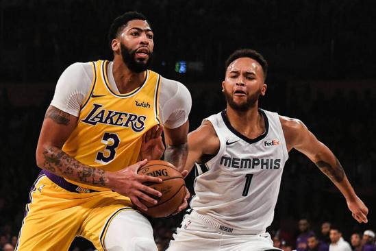 NBA: Les Lakers écrasent les Grizzlies de Memphis, Miami vient à bout d'Atlanta