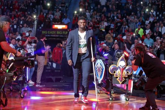 NBA: Zion Williamson: «Je me sens plus fort jour après jour»