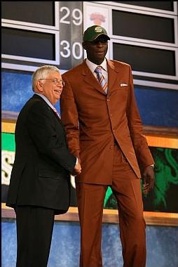 Saer SENE avec David Stern NBA