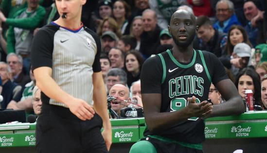 NBA – En 2 minutes, Tacko Fall fait le show et reçoit des chants MVP !