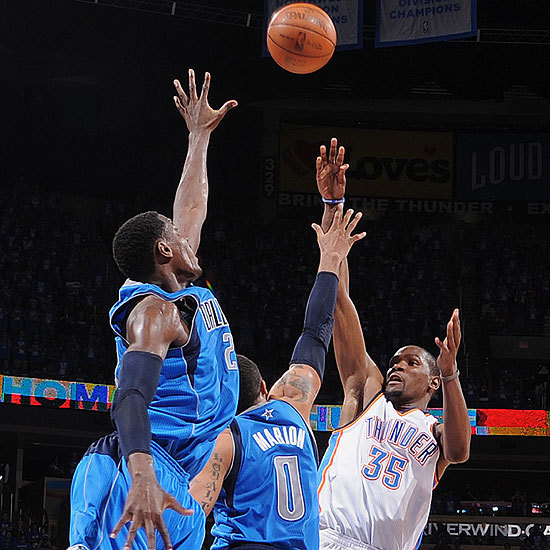 (VIDEO) - NBA  PLAY-OFF 2012 : Durant sauve le Thunder