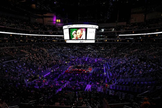 Mort de Kobe Bryant. Dernier Adieu émouvant au Staples Center de la légende et de sa fille