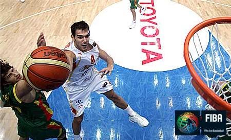 Espagne Lithuanie ici Navarro 22 pts-Photo FIBA