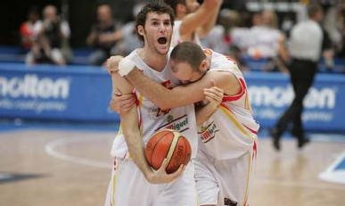 Les Espagnols ont croqué les Grecs en finale dimanche  (Panoramic)