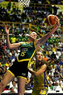 Lauren Jackson 1,96 m Australie - (Photo FIBA)