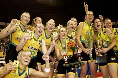 Australie Championne du Monde (photo-FIBA)