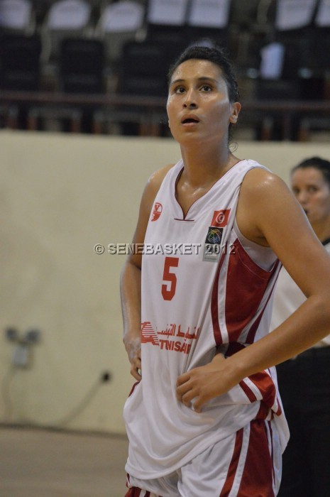 Houda Hamrouni 31 points et 9 rebonds