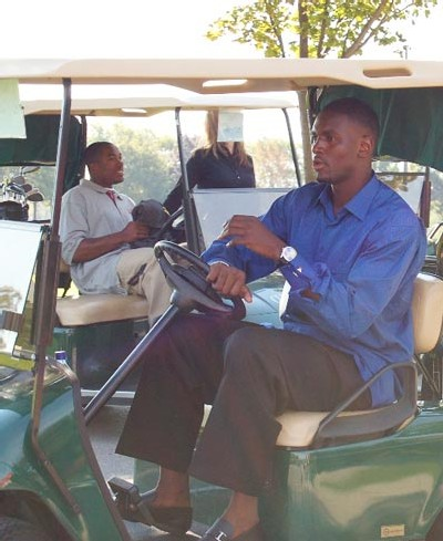 Pape SOW lors du Toronto Raptors Charity Golf Classic le 26 Septembre passé- Photo NBA