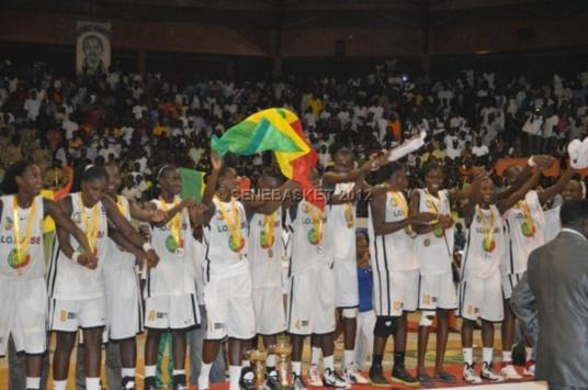 """Afrobasket U18 : Les """"Lioncelles"""" sur le toit de l'Afrique"""