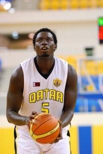 Oumar Seck (Qatar SC) 29 pts, 17 rbds, 6 passes et 2 contres