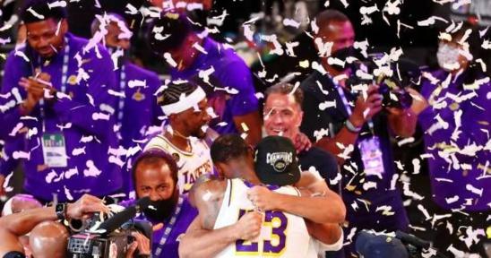 NBA : le sacre des Los Angeles Lakers en chiffres