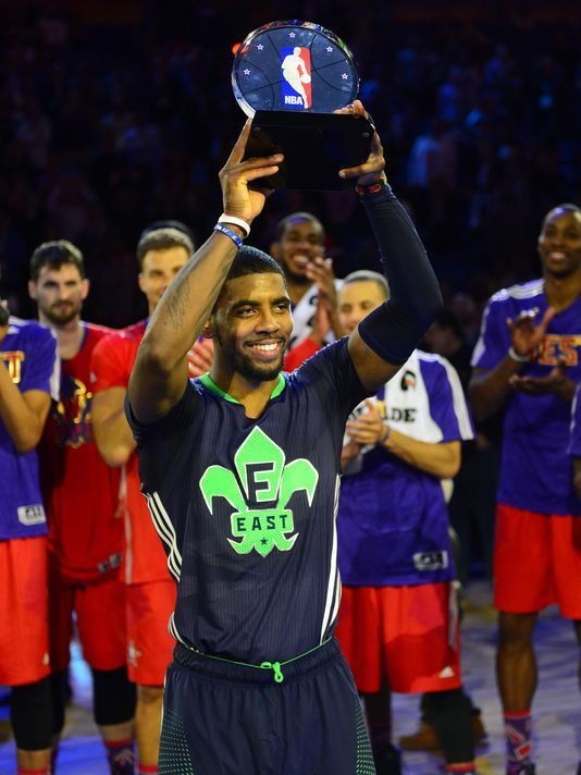 NBA All Star Game 2014 : Est vs Ouest 163-155, Kyrie Irving MVP !