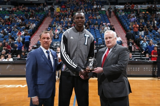 NBA: Gorgui Dieng dans le All Rookie second team