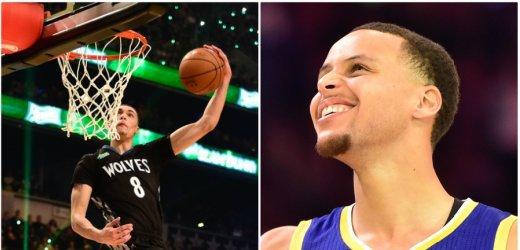 Basket - NBA All star game : Zach LaVine met le feu au concours de dunk (VIDÉOS)