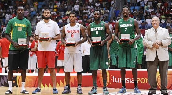 Oguchi élu Meilleur Joueur et parmi le 5 majeur de l'AfroBasket 2015