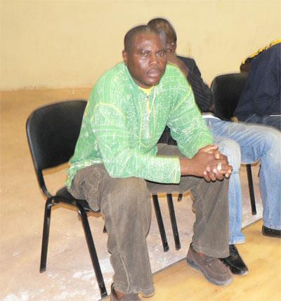 Sir Parfait Adjivon coach du DUC -Photo Odonou