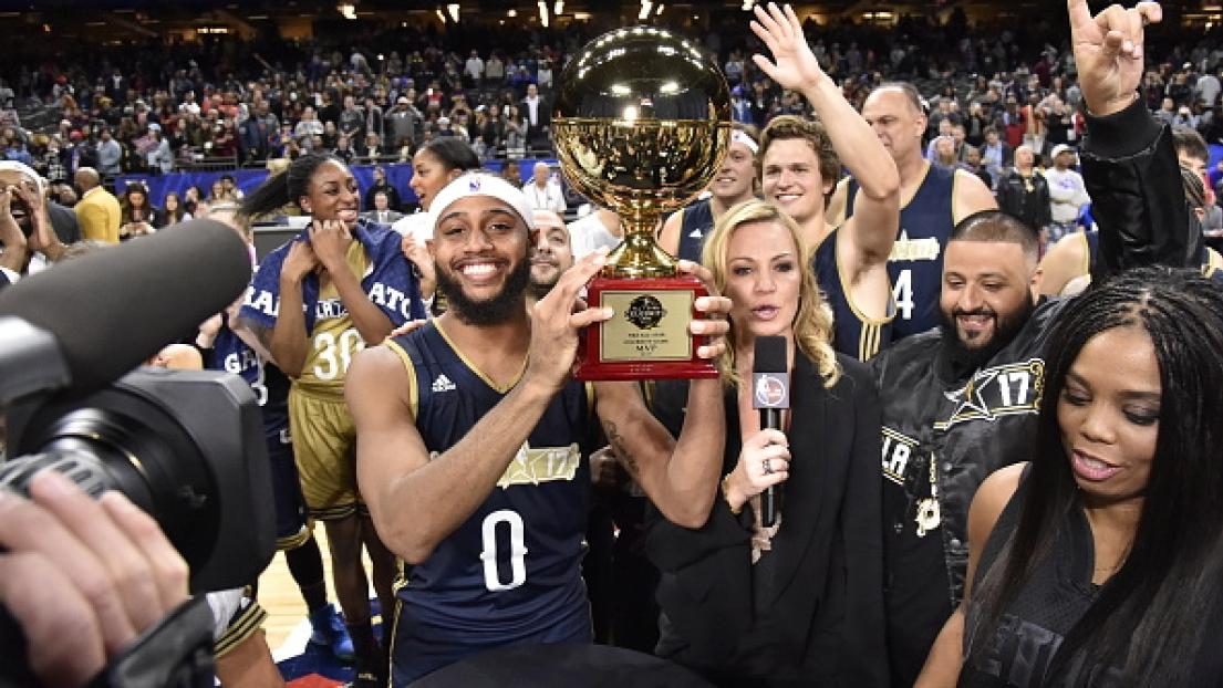 NBA ALL-STAR GAME : NBA : l'Est remporte le Celebrity Game