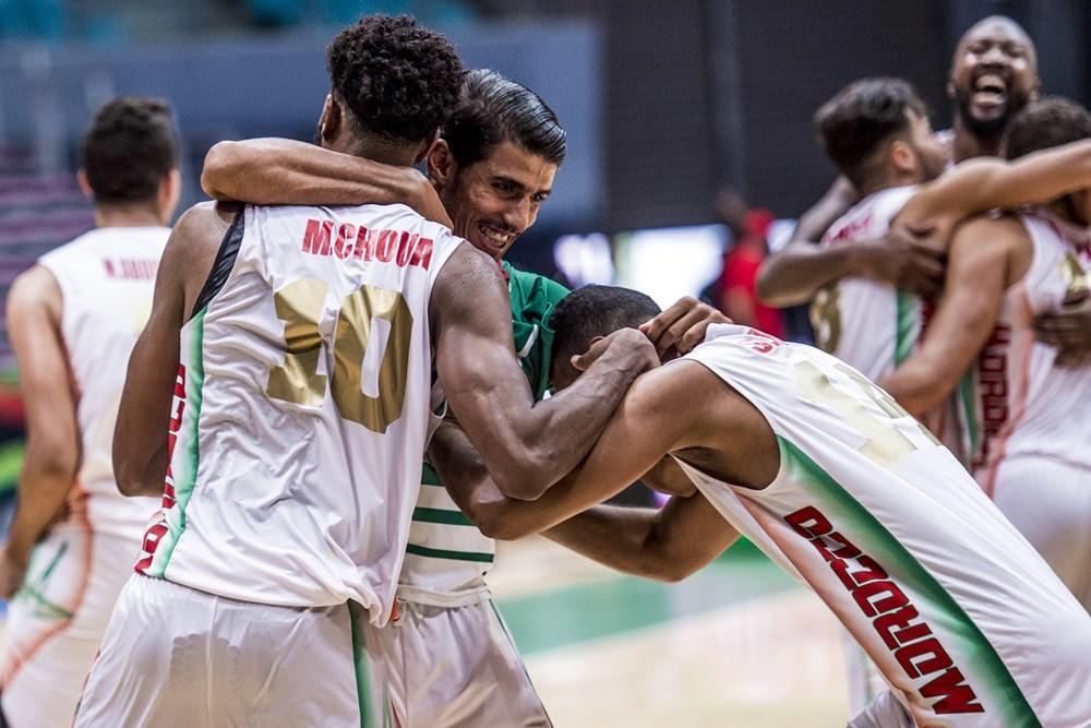 AFROBASKET HOMMES 2017 : Le Maroc bat l'Egypte et file en demi-finale