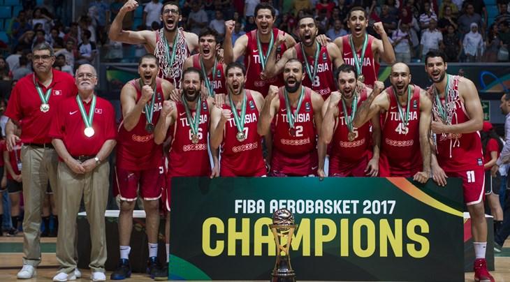 AFROBASKET HOMMES 2017 : La Tunisie remporte le FIBA AfroBasket 2017