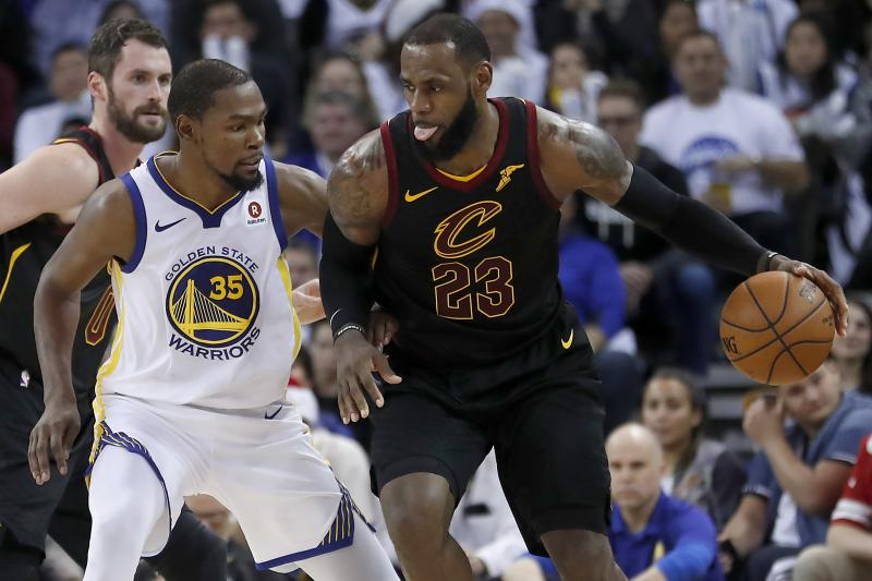 NBA: Les Warriors trop forts pour les Cavaliers