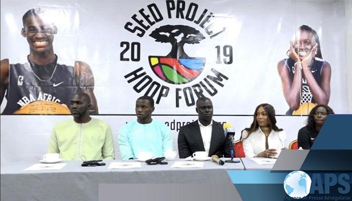 De grands noms du basket sénégalais à Thiès, pour prendre part au 17-ème Hoop Forum
