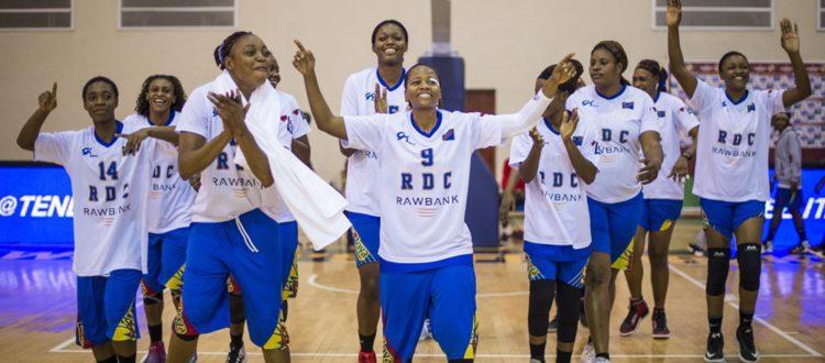 Afrobasket 2019 :  une Léopard offre des chaussures à ses coéquipières