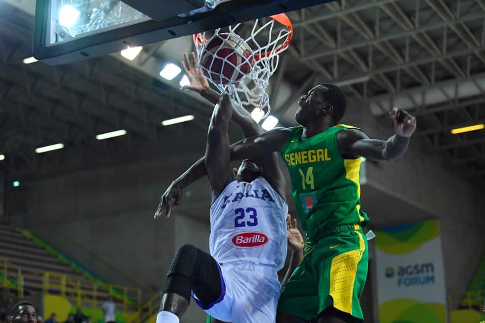 Film du Match des Lions : le Sénégal  balayé  par l'italie  111-54 au Verona Basketball Cup