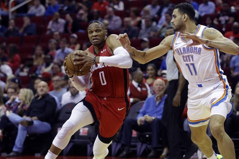 NBA- RESULTATS DE LA NUIT:Russel Westbrook sans pitié pour son ancienne équipe, Golden State se réveille..