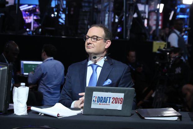 NBA:Suspendu par ESPN, Adrian Wojnarowski a le soutien de plusieurs joueurs