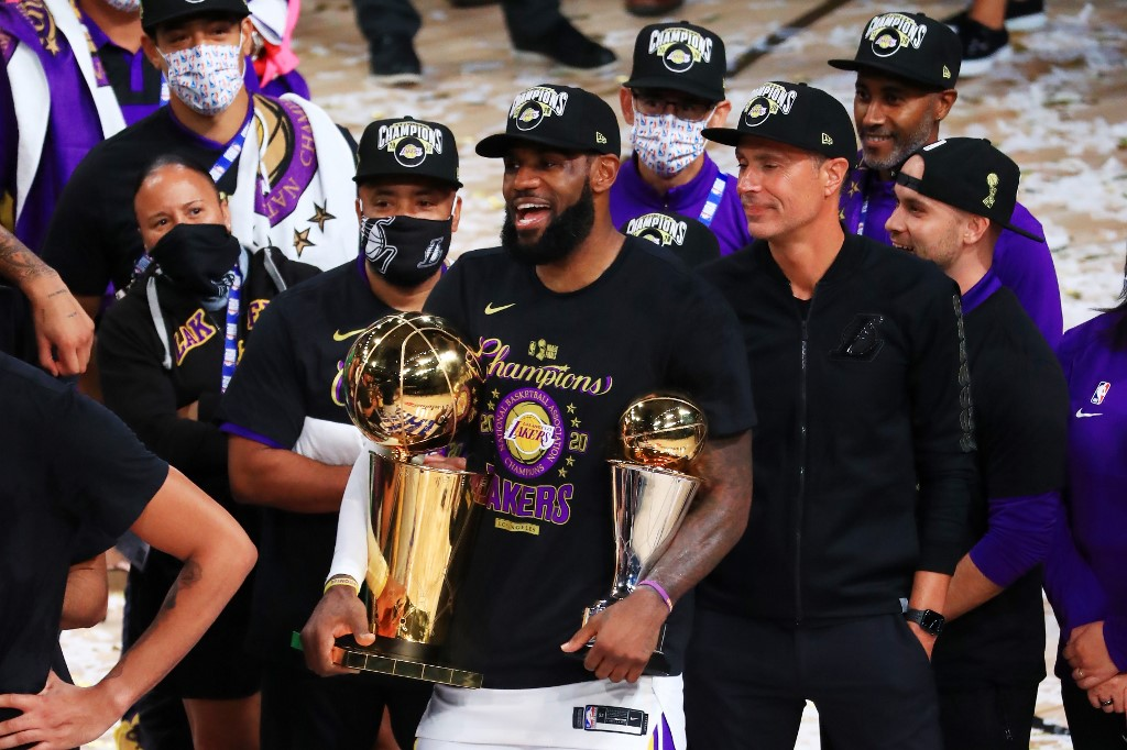 Basket - NBA - NBA : LeBron James (Los Angeles Lakers) élu MVP de la finale 2020
