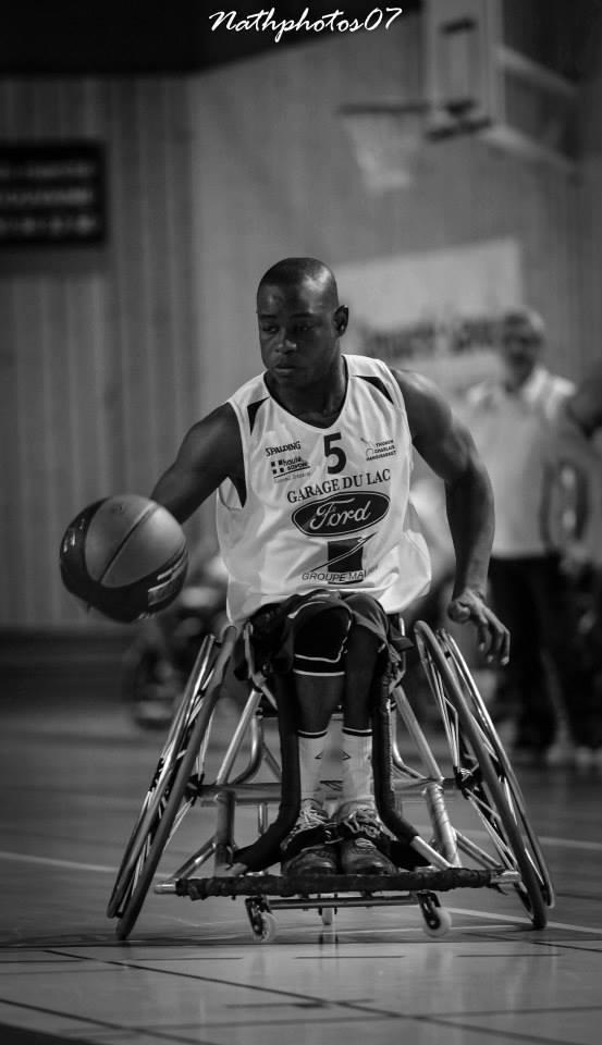 HANDIBASKET Championnat de France NB - 5ème journée. Aliou Dramé le natif de Ouakam 24 pts