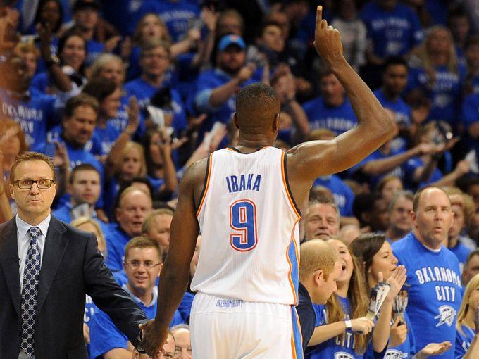 NBA - Play-offs: avec Ibaka, Oklahoma City retrouve de l'éclat
