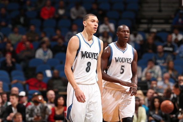 Lavine et Dieng - Photo NBA