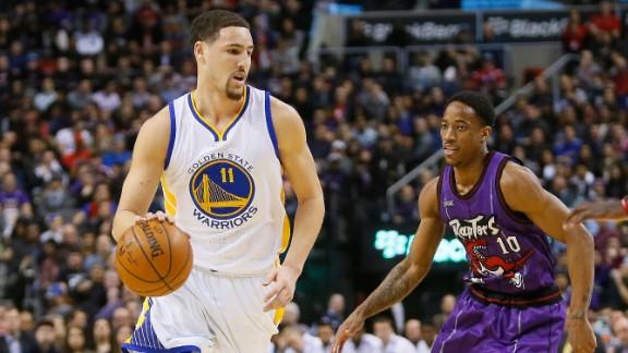 NBA: Golden State donne la leçon à Toronto dans le sommet de la soirée