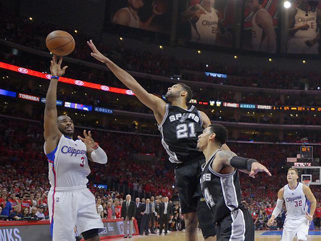 NBA - Play-offs/1er tour: San Antonio éliminé par les Clippers