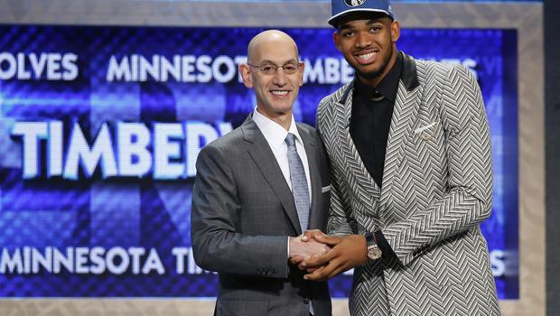 NBA - Draft 2015: Towns premier choix, les Lakers parient sur Russell,Le Congolais Emmanuel Mudiay choisi en 7e position par Denve