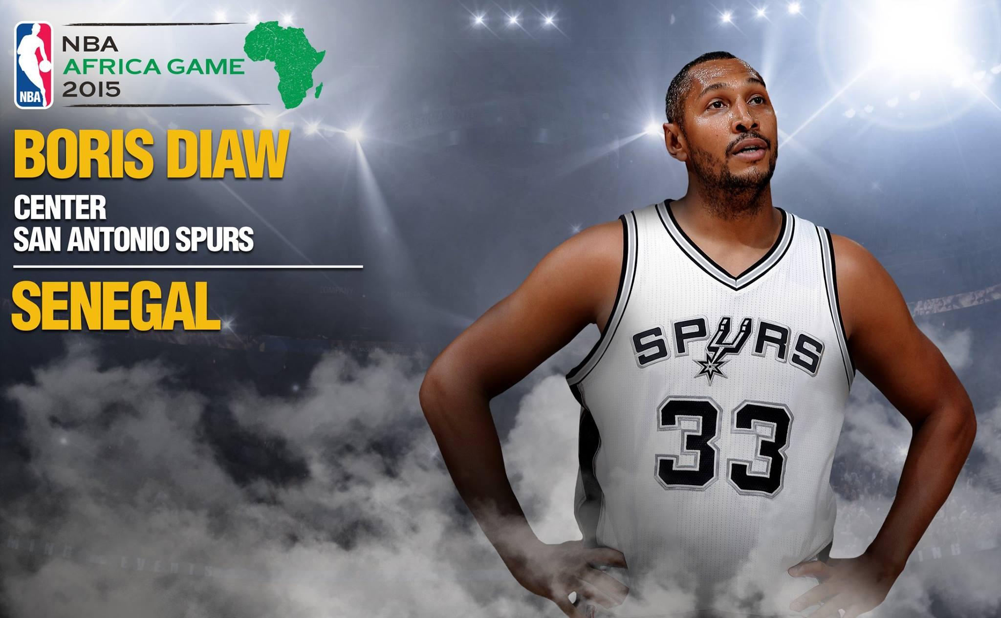 Boris Diaw au match NBA prévu à Johannesburg pour représenter ses origines