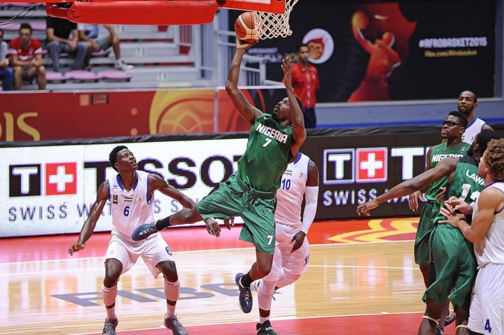 Le Nigéria en demi-finale de l'AfroBasket 2015