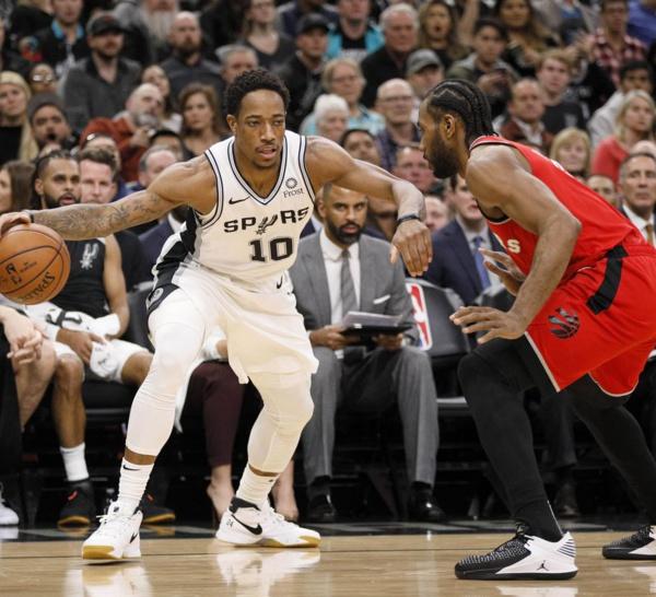 Spurs -Raptors : Des retrouvailles tout à l'avantage de DeMar DeRozan