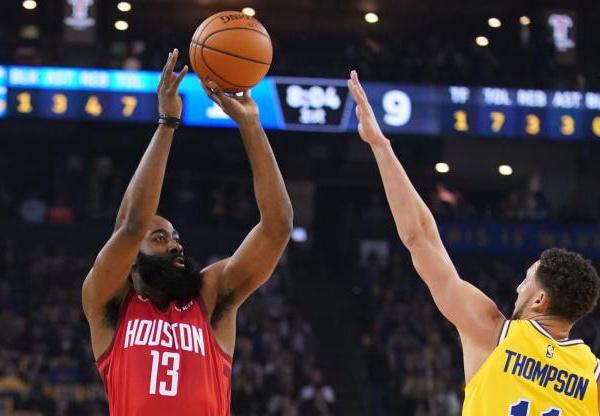 NBA : Harden offre à Houston le choc face à Golden State