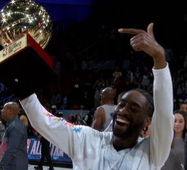 NBA ALL-STAR GAME 2019: Le comédien Famous Los MVP du All-Star Celebrity Game
