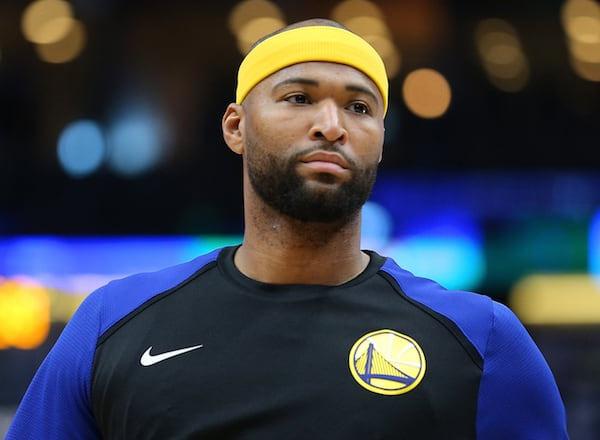 NBA FINALS 2019: NBA. DeMarcus Cousins titulaire avec les Warriors face aux Raptors pour le Game 1 des Finales