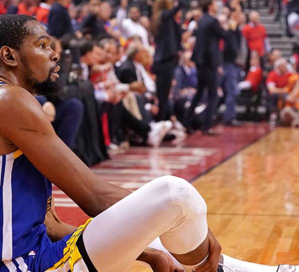 NA FINALS 2019: Kevin Durant blessé au tendon d'Achille, consternation à Golden State