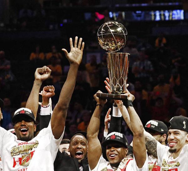 BA FINALS 2019:Toronto terrasse Golden State et devient la première franchise canadienne à remporter le titre