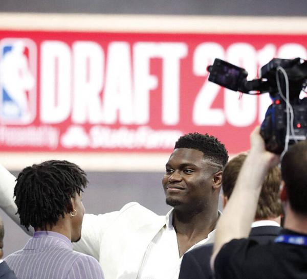 Draft NBA 2019. Le phénomène Zion Williamson choisi par les New Orleans Pelicans