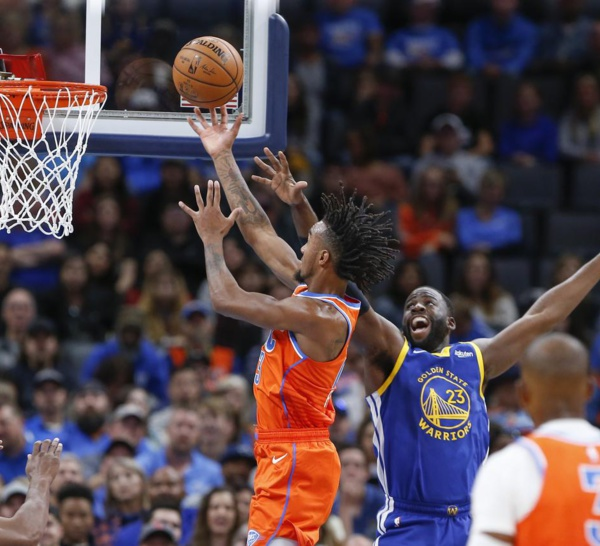 NBA : OKC humilie Golden State à domicile