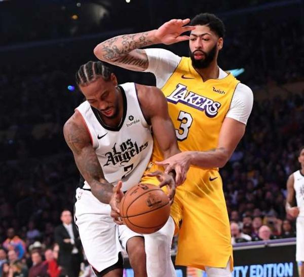 NBA: les Clippers battent les Lakers, encore grâce à Leonard et Patrick Beverley